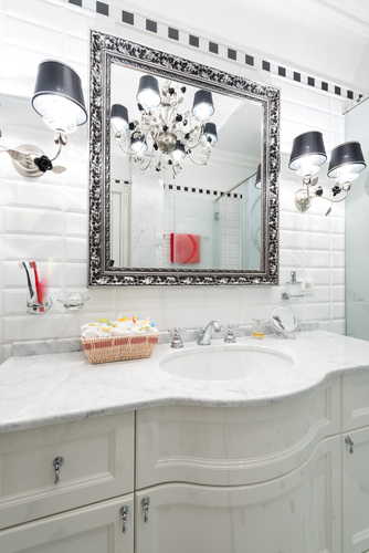 How to Make a Boring Bathroom Stand Out