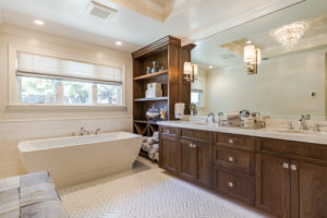 natural stone tile accents in the bathroom floor coverings international seminole